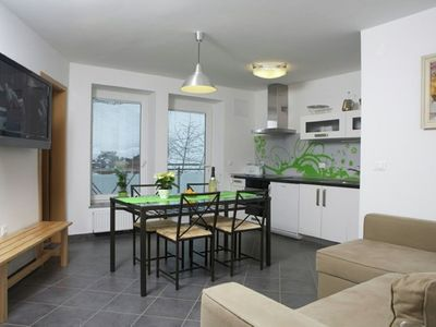 Photo for Apartment in the center of Bled with Internet, Parking, Garden, Balcony (337197)