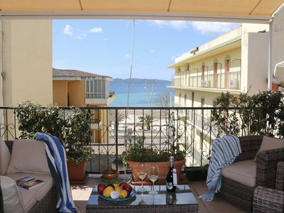 Photo for Casa Algueretta apartment in Alghero with integrated air conditioning, private roof terrace & lift.