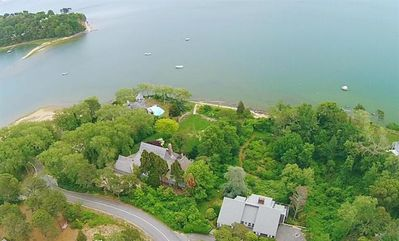 Photo for #526: Luxury waterfront, private sandy beach. 9-seat movie theater - GAME ROOM!