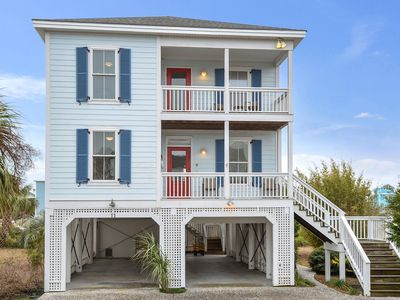 Photo for Updated and upgraded! TVs, ceiling fans all bedrooms, WiFi, Ipod dock, hammock!