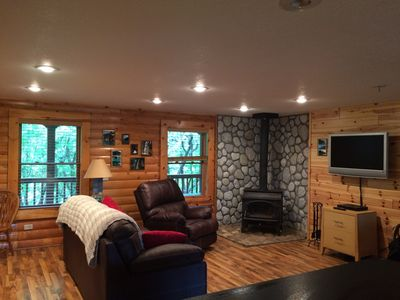 Photo for Log Home In Beautiful Grand Marais , Mi