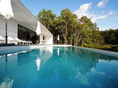 Photo for Boutique luxury villa with private pool and Jacuzzi, industrial interior design