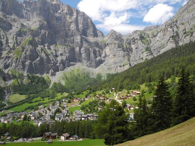 Photo for Swiss Alpine retreat in beautiful Leukerbad. Close to Baths and ski lifts.