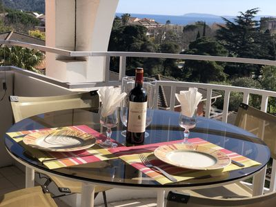 Photo for Sea view, Cavaliere, wifi, Air-conditioned.