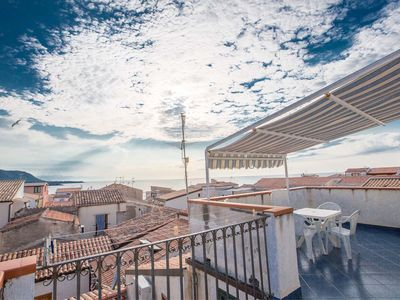 Photo for Casa XXV Novembre is a quaint attic apartment in the heart of the historic center of Cefalu.