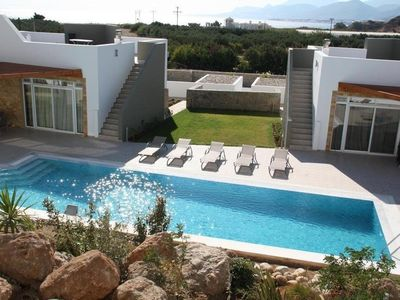 Photo for Great location 200m to beach. Balcony with mountain and sea views.2 shared pools