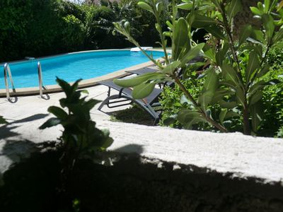Photo for A beautiful and large holiday home: Lou Brès in Provence near Avignon