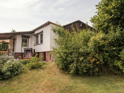 Photo for Detached holiday home in Güntersberge in the Harz, located opposite the mountain lake