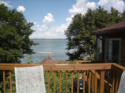 Photo for Two Bedroom Cottage with Great Lake Views!