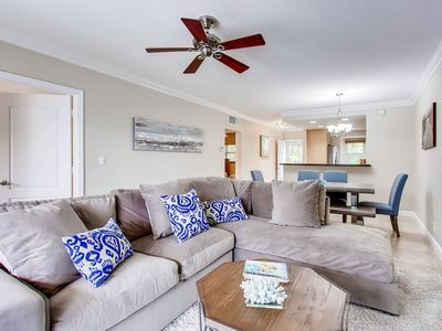 Photo for Serenity by the Sea, 2 bedroom 2 bath across the street from beach!