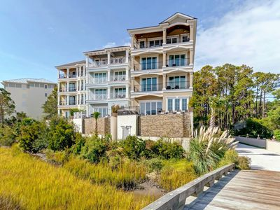 Photo for Beautiful Newly Built 10BR Home steps from the sand! Winter Specials!