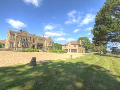 Photo for Magnificent 5 star Gold award luxury lodge in grounds of period manor.
