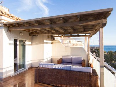 Photo for 3 bedroom Villa, sleeps 6 in Moraira with Air Con and WiFi