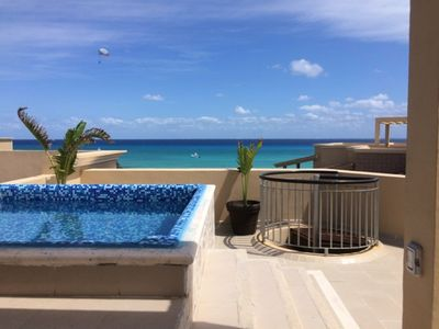Photo for Private pool/Rooftop terrace/ 2BDR condo for 5