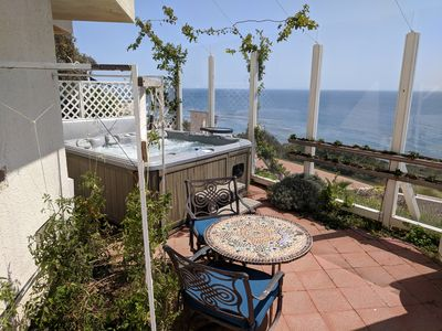 Photo for Ocean Front Private Suite w/ Jacuzzi & Fireplace on 3.5 acres