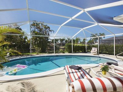 Photo for Vacation Home with 2 Bedroom / 2 Bathroom / Pool / on Canal