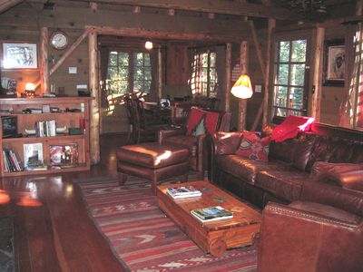 Photo for 3BR Cabin Vacation Rental in Tahoe City, California