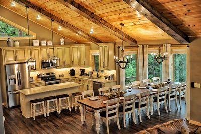 Gorgeous dining and luxury kitchen experience!