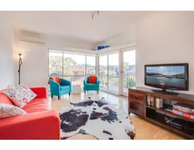 Photo for Bright and Breezy unit with views over Mosman Bay