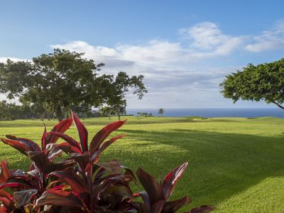 Ocean View! Golf Course Princeville Townhouse! Walk to Beach! Free WiFi