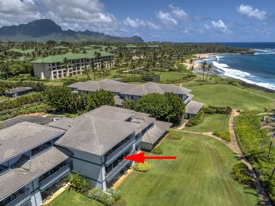 Photo for Poipu Sands #427 - Luxury 2BR Condo with Beach and Pool Access!