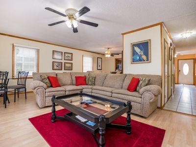 Photo for Pet-Friendly Canalfront in North OCMD - Free Wi-Fi, Deck, Grill & 2 Bikes!