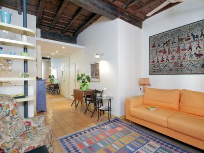 Photo for A very cosy and homely studio apartment (max three people) in the heart of the historical centre, th