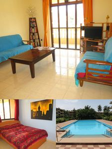 Photo for 25) Quality 2 Bedroom Serviced Apartment Regal Park Candolim & Wi-Fi