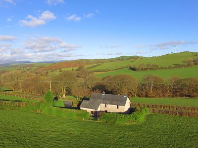 This former 18th century miner's cottage provides a cosy and peaceful base with beautiful views fr