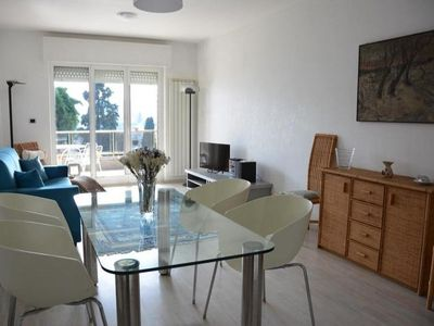 Photo for Sea view apartment surrounded by a tropical garden. For 4 guests + 1bimbo