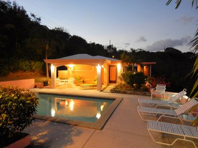 Photo for Lovely 4bed/4bath Caribbean Villa w/ Amazing Views!!Private Pool,A/C Throughout