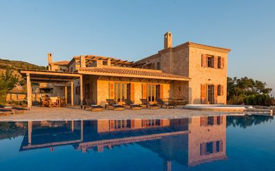 Photo for Palace Villa - Peaceful and Romantic Luxury Villa with Sea Views, Private Pool and Direct Access to the Sea ! FREE WiFi