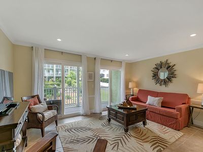 Photo for Spacious Townhome with Easy Beach Access! Pools Views from Balcony