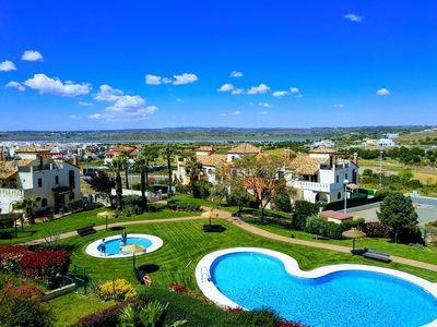 Photo for Chalet Costa Esuri de Ayamonte. Beach, golf, Algarve.