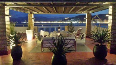 Photo for APARTMENT 1st LINE SEA WITH TERRACE OF 150m2