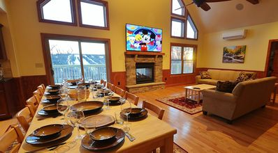 Photo for Boulderview Lodge, Lake Harmony's Newest, Most Luxurious Home with the best View