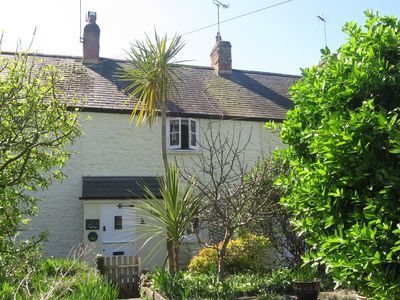Photo for Lime Cottage, Grade II listed, Secluded Courtyard Garden, Distant Sea View