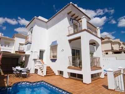 Photo for Ref. 1164 Detached Villa 3 bedrooms, Private pool, A / C, Wifi,