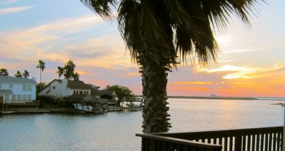 Photo for AMAZING VIEWS!! - Charming Waterfront Condo -North Padre Island w/ Private Dock