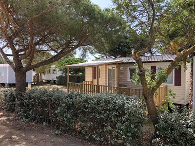Photo for Air-conditioned mobile home 6 people 3 bedrooms Port-La-Nouvelle