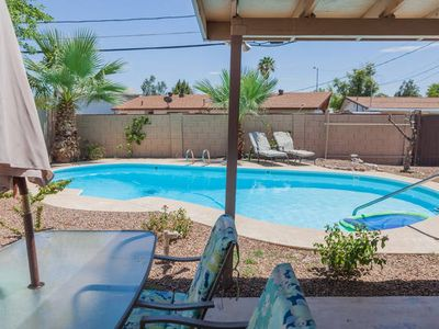 Photo for North Tempe/ South Scottsdale 3 bed/ 2 bath WITH A POOL!