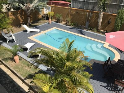 Photo for Large Villa with swimming pool in a residential area 5 minutes from the beach