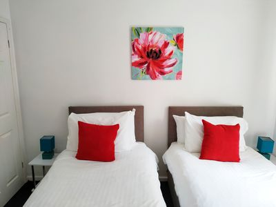 Photo for good value central apartment with garden&parking