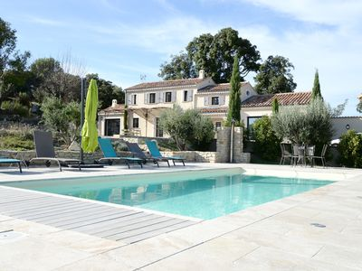 Photo for Splendid farmhouse restored with taste-private pool and breathtaking views