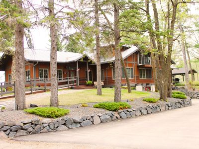Photo for Historic Lodge on 48 Acres. Sleeps 25. Large Great Room