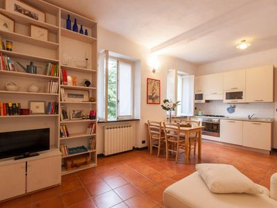 Photo for Romana di Quarto apartment in Genoa with WiFi.