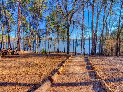 Photo for Big Lakefront Christian Retreat for 15 Near Clemson & Southern Wesleyan - 5 Bdr