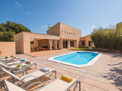 Photo for CASA VIÑAS -Contemporary design villa, 3 bedrooms, private pool , Son Servera
