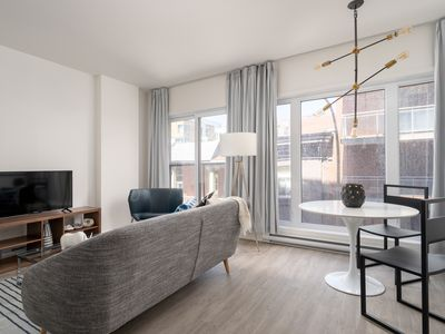 Photo for Pleasant 1BR in Quartier des Spectacles by Sonder