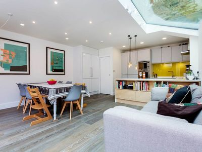 Photo for Bright & playful 3 bedroom home located in West London's Fulham (veeve)